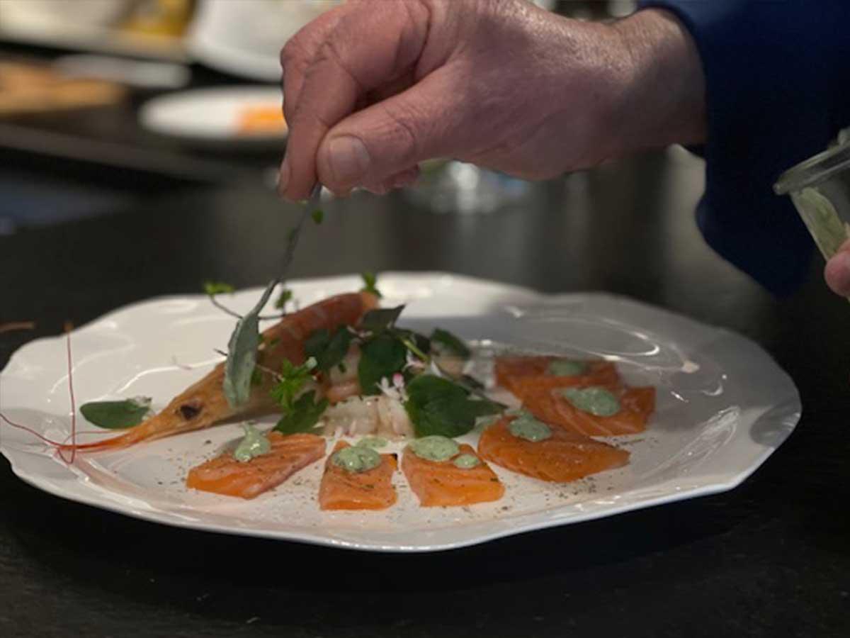 Bed and Breakfast Löffelmühle an der Elz: Jean-Paul's Cuisine - Fisch