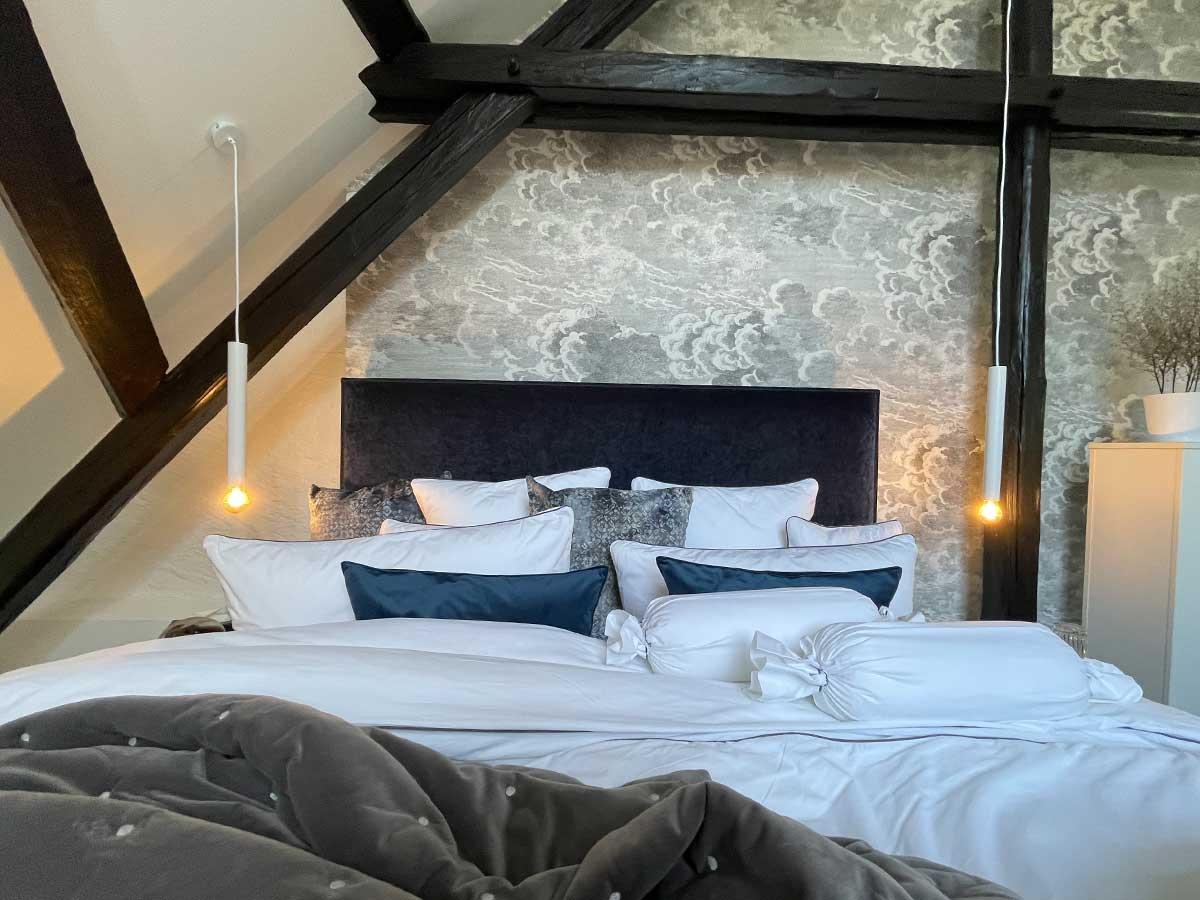 Bed and Breakfast Löffelmühle an der Elz: Aria - Das Bett