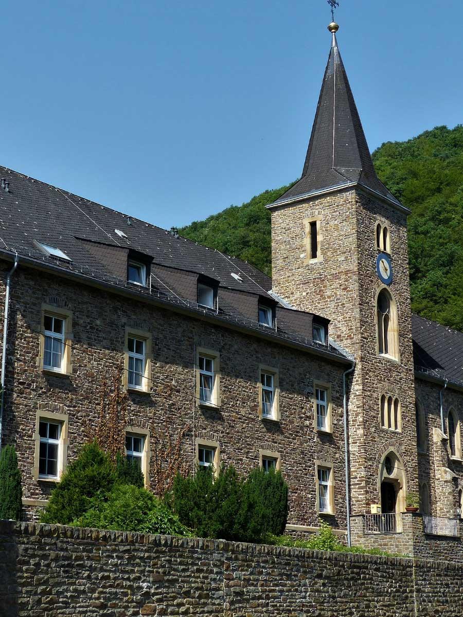 Bed and Breakfast Löffelmühle an der Elz: Ausflüge und sehenswerte Bauwerke - Kloster
