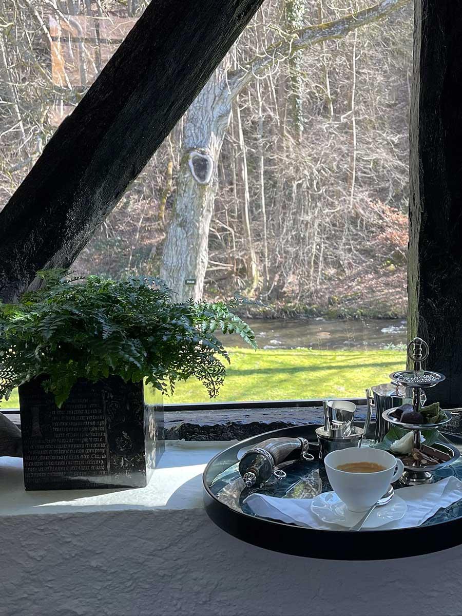 Bed and Breakfast Löffelmühle an der Elz: Fauna - Fenster
