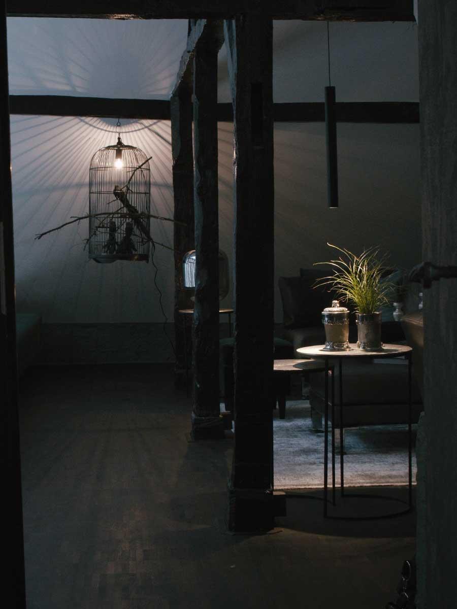 Bed and Breakfast Löffelmühle an der Elz: Fauna - Leuchte