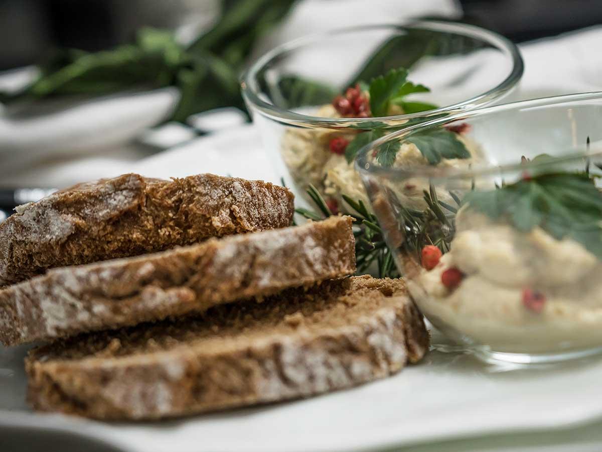 Bed and Breakfast Löffelmühle an der Elz: Jean-Paul's Cuisine - Vorspeise