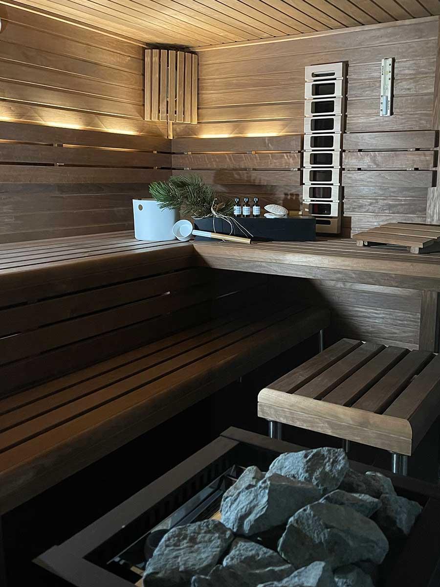 Bed and Breakfast Löffelmühle an der Elz: Entspannung in der Sauna