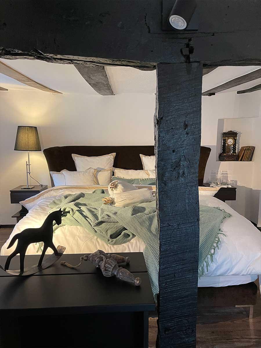 Bed and Breakfast Löffelmühle an der Elz: Terra - Schlafbereich